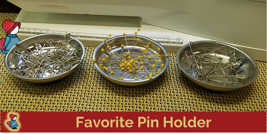 Favorite Pin Holder