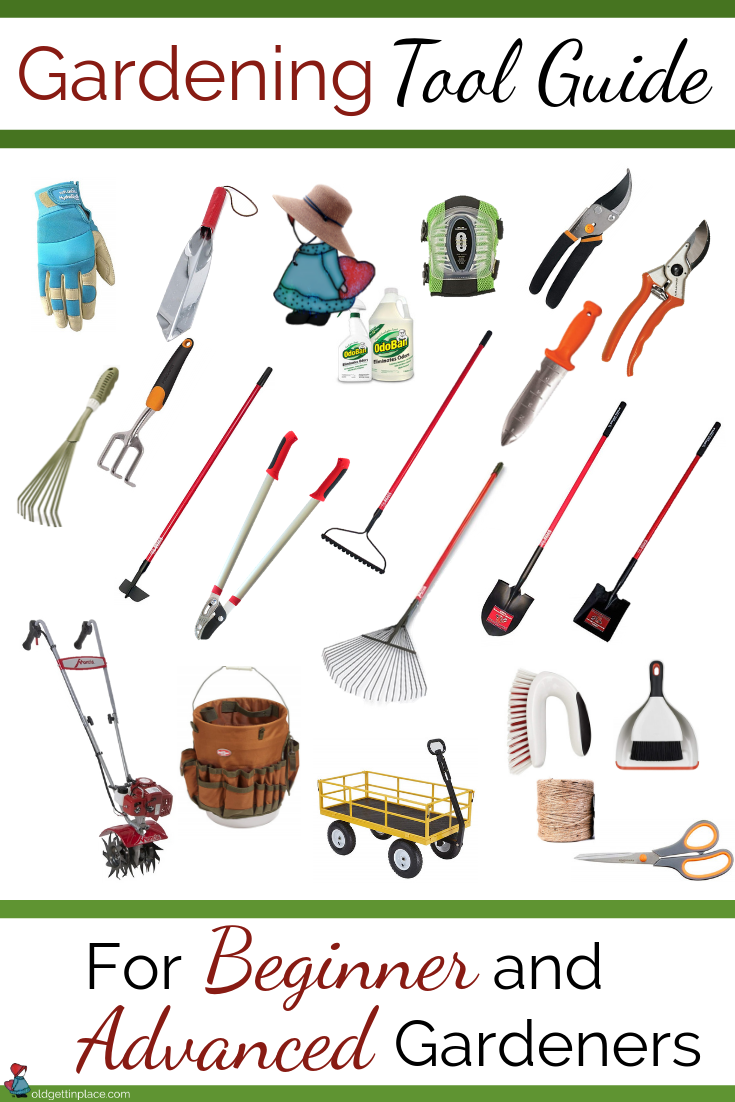 Gardening Tool Guide Old Gettin Place Llc
